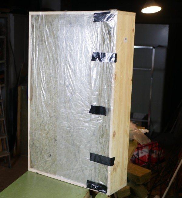 Schallabsorber selber bauen: Der Breitbandabsorber