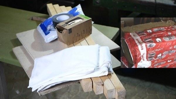 Schallabsorber selber bauen: Material für den Bassabsorber